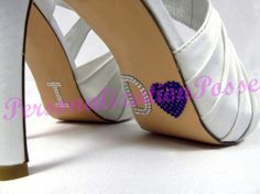 Rhinestone appliques for shoes