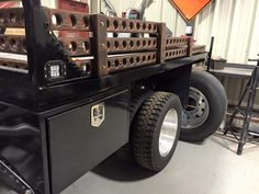Truck Bed Bodies For Service Industry And Utility Trucks