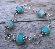 Sea Spiral Bracelet by SilverParrot