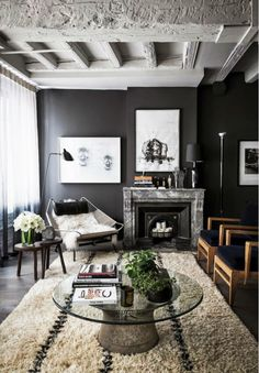 How to Craft a Black and White Space That's Anything But Boring via @mydomaine