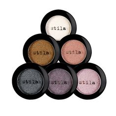Camera Ready Cosmetics™ - Stila's Jewel Eye Shadows are the perfect blend of pigment, binder, and pearl that delivers a weightless feel on the eye; leaving lids glamorous and glittering. ($20)