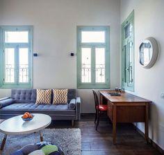 דירה ביפו; אדריכלות ועיצוב פנים: ליאת בני פלד (בנין ודיור , יואב גורין)