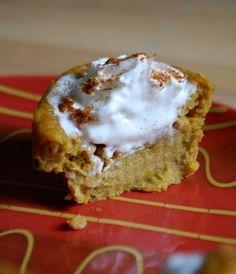 Impossible Pumpkin Pie Cupcakes | Baking Bites