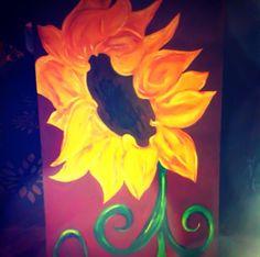 """Sunflower dancing"""" for Lisa by: Ethel Lynn Ivory"""