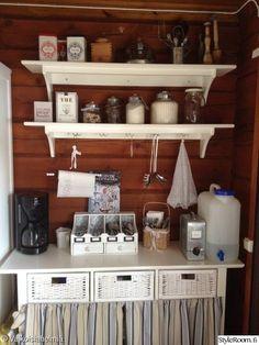 Finland Country, Cottage Style, Vintage Kitchen, Liquor Cabinet, Hygge, Interior Design, Furniture, Home Decor, Decorations