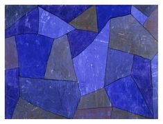 Giclee Print: Rocks at Night by Paul Klee : 26x34in
