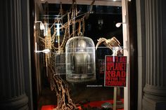 Vivienne Westwood windows at Conduit street, London