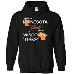 (MNJustCam002) Just A Minnesota Girl In A Wisconsin Wor - #gift bags #shirt. GET => https://www.sunfrog.com/Valentines/-28MNJustCam002-29-Just-A-Minnesota-Girl-In-A-Wisconsin-World-Black-Hoodie.html?id=60505