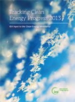 NEW REPORT: Tracking Clean Energy Progress 2013 examines progress in the development and deployment of key clean energy technologies. Each technology and sector is tracked against interim 2020 targets in the IEA 2012 Energy Technology Perspectives 2°C scenario, which lays out pathways to a sustainable energy system in 2050.    Stark message emerge: progress has not been fast enough...    Read more...