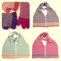 Lamswollen sjaals & handschoenen @HUT  http://hutshop.be