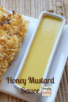 I do believe that the right sauce can make a meal. This Honey Mustard Sauce will make many meals delicious. Creamy Honey Mustard Chicken, Honey Mustard Pretzels, Honey Mustard Recipes, Homemade Honey Mustard, Honey Mustard Sauce, Spicy Honey, Sauce Recipes, Cooking Recipes, Salads