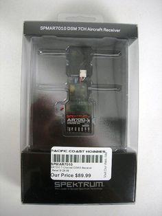 Spektrum AR7010 7 Channel DSMX Receiver SPMAR7010 | eBay