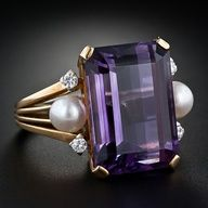 Ring 1950 Lang Antiques  www.finditforweddings.com