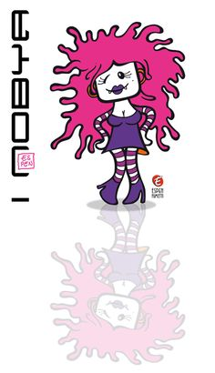 Nobya - fashion design - verona fumetto-comics by giorgio #espen fumetti www.neurone.es