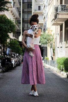 Mariloo // Karavan Clothing  blog.karavanclothing.com #karavanclothing #karavan #marilookaravan We Wear, How To Wear, Midi Skirt, Skirts, Blog, Outfits, Fashion, Moonlight, Brick