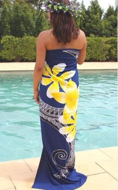 Dress Attire, Dress Outfits, Hawaii Dress, Island Wear, Muumuu, Different Dresses, Traditional Dresses, Women's Fashion, Fashion Design