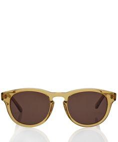728b633ac8d2 Hans Kjobenhavn Yellow Timeless Acetate Sunglasses