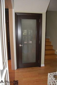 frosted glass door for Paisleys