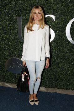 The Olivia Palermo Lookbook : Olivia Palermo at US Open