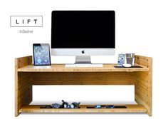 LIFT: Sit-to-Stand Adjustable Smart Desk | HolyCool.net