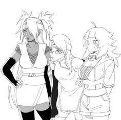 Naruto Gaiden girls