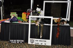 Photo Booth for our Class Reunion. Great fun!