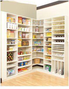 Kitchen Pantry Storage Systems | Pantry Organization |