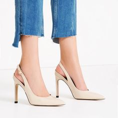 Image 1 of SLINGBACK HIGH HEEL SHOES from Zara