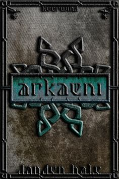 Arkaeni book cover