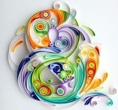 Expressive Quilled Paper Illustrations and Portraits by Yulya Brodskaya