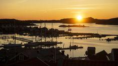 Fjällbacka coucher soleil port Celestial, Sunset, Outdoor, Jet Lag, Pontoons, Aurora Borealis, Archipelago, Landscape, Outdoors
