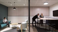 See a smart, simple and elegant installation of our Ecoustic Veneer Perforated Eucalyptus timber acoustic panels at Gateway by PTID. Acoustic Panels, Contemporary, Elegant, Simple, Table, Projects, Furniture, Design, Commercial