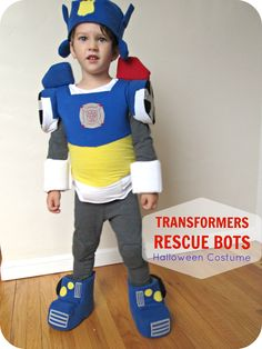 homemade by jill: comfy dress up: Transformers Chase Halloween Costume Transformer Halloween Costume, Toddler Boy Halloween Costumes, Transformer Birthday, Homemade Halloween Costumes, Diy Costumes, Costume Ideas, Halloween Ideas, Children Costumes, Children Crafts