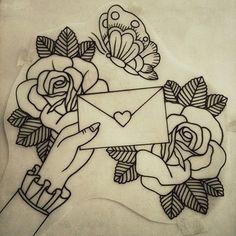 tattoo hand letter - Buscar con Google