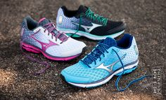 Mizuno did it again; they've created a wonderful running shoe which offers the perfect combination of support, structure and comfort