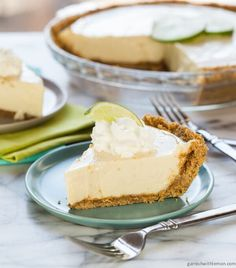 Made with just 4 ingredients, this Easy Key Lime Pie recipe is my favorite and is a perfect addition to your spring celebrations.