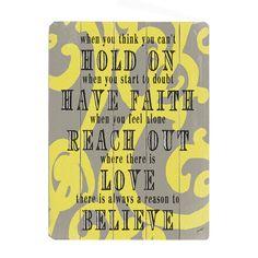 #faith #love #believe