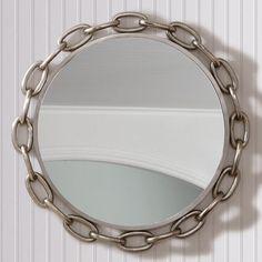 """Anchor Chain Round Mirror (40"""")"""