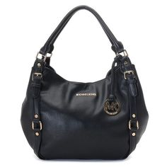 Professional And Unique Style Michael Kors Bedford Large Black Shoulder Bags In Our Online Store Will Touch Your Heart! I NEED this bag! Sac Michael Kors, Michael Kors Bedford, Handbags Michael Kors, Mk Handbags, Cheap Handbags, Cheap Bags, Fashion Handbags, Replica Handbags, Fashion Bags
