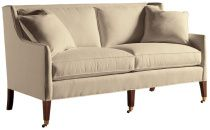 Baker Regency Sofa  Width: 76 inches  Depth: 37 inches  Height: 40 inches  COM: 18.25 yds