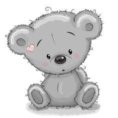Illustration about Cute Cartoon Teddy Bear isolated on a white background. Illustration of heart, lifestyle, bear - 60814083 Teddy Bear Nursery, Baby Teddy Bear, Cute Teddy Bears, Teddy Bear Drawing, Teddy Bear Cartoon, Cute Cartoon, Tatty Teddy, Urso Bear, Cartoon Mignon