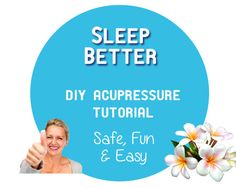 Sleep Better • DIY Acupressure #Tutorial • Learn the secrets to #sleep better with a simple technique you can use anytime, anywhere: #acupressure!