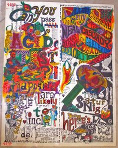 Fillmore Acid Test - 1966 featuring Allen Ginsberg, Neal Cassady, The Merry Pranksters, and the Grateful Dead 🎶Classic rock music concert poster psychedelic ☮ ☮❥Hippie Style❥☮☮ Saul Bass, Jack Kerouac, Vintage Concert Posters, Vintage Posters, Rock Posters, Music Posters, Art Posters, Pop Art, Hippie Art