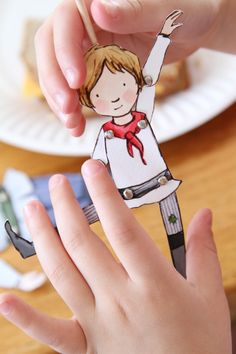 DIY make your own paper puppets