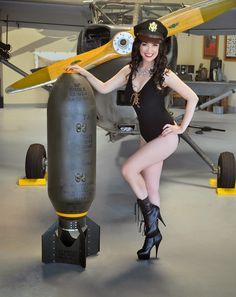 Gina's Pin-Ups For Vets Memphis Belle, Instant Video, Vintage Metal Signs, Girl Posters, Photo Pin, Cute Pins, Pin Up Girls, Get Dressed, Aviation