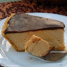 Melt-in-Your-Mouth {sugar-free} Peanut Butter Pie Recipe | enjoytheviewblog.com #pie #peanutbutter #dessert #sugarfree