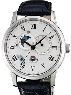 Orient Automatic Sun and Moon Watch with Sapphire Crystal #ET0T002S