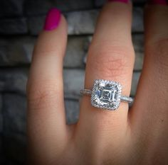 Top 10 Reasons to Buy a Pre Owned Engagement RingWhat does a   10000 Engagement Ring Look Like    Cushion cut  . Previously Owned Wedding Rings. Home Design Ideas