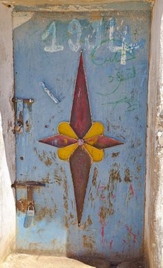 Africa | 'Doors of Morocco'. # 30 | © PatPaddleFoot, via flickr