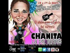 El show de Chanita la del Tarro en The Cure Ciudad del Carmen